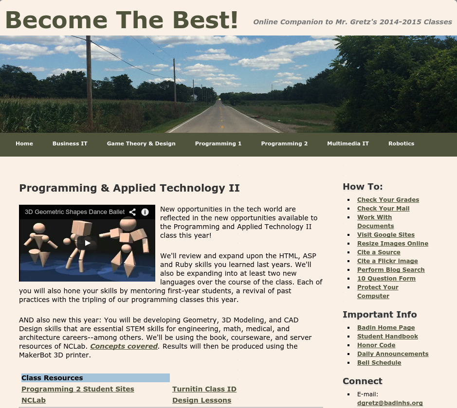 """Project """"Become the Best!"""" Uses NCLab 