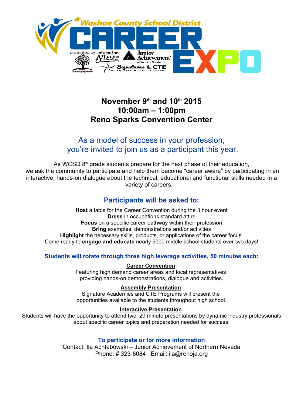 Visit NClab at the Upcoming WCSD Career Expo! | NCLab
