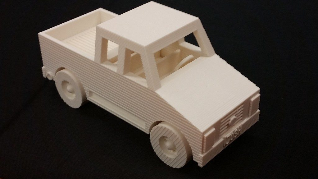3D Print of a Pickup Truck | NCLab